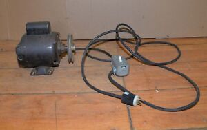 Vintage Westinghouse 1 2 Hp 1725 Rpm 7 6 Amp Table Saw Drill Press Motor Tool