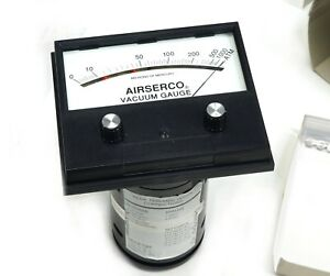 Airserco Analog High Vacuum Gauge Gage 9044 sm 0 1000 Microns Dial Only