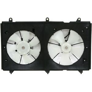 Radiator Cooling Fan For 2003 2007 Honda Accord 2 4l 4cyl Engine Denso Type