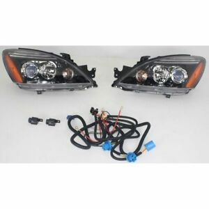 Styline Halogen Headlight For 2004 2007 Mitsubishi Lancer W Bulb S Pair