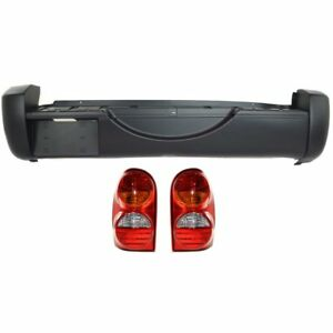 New Set Of 3 Auto Body Repairs Rear Jeep Liberty 2002 2004
