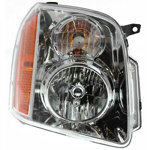 Headlight Headlamp Passenger Side Right Hand Rh For 07 13 Gmc Yukon Xl Suv