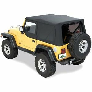 Pavement Ends 51132 15 Soft Top For 88 95 Jeep Wrangler yj