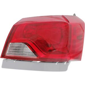 Tail Light For 2014 2019 Chevrolet Impala Passenger Side Outer