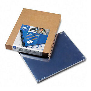 Clear View Standard Clear Presentation Covers box Of 100