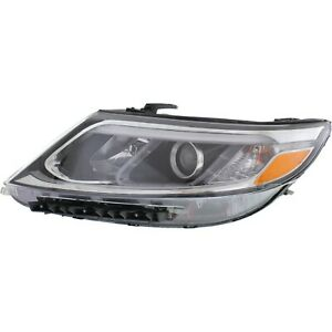 Headlight For 2014 2015 Kia Sorento Lx Limited Sx Ex Models Left With Bulb