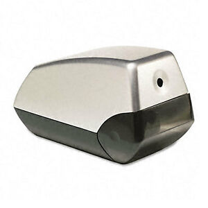 X acto Helix Office Electric Pencil Sharpener Silver black