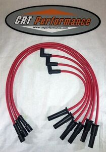 2007 2011 Jeep Wrangler Unlimited 3 8l Red 8mm Spark Plug Wire Set Upgrade Usa