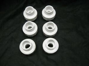 King Brothers 3 4 Pvc Union Wu 0750 s Sch 40 Epdm O ring Sxs Lot Of 6