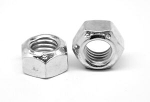 3 8 24 Fine Grade C Stover All Metal Locknut Zinc Plated And Wax