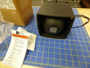 Federal Signal Compact Bp100 Watt P a Siren Speaker New In Box