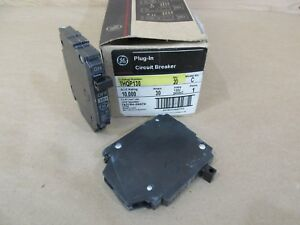 Ge Thqp130 Circuit Breaker 30 Amp 120 240v 1 Pole New Box Of 20 Breakers