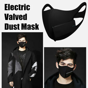 Electric Valved Outdoor Riding Dust Mask Pm2 5 Breath Protective Respirator