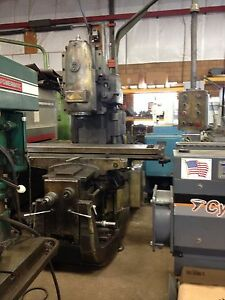 9583 Used Polamco Heavy Duty Vertical Milling Machine Turning Milling Equipmen