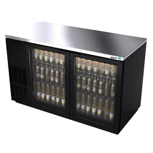 Asber Abbc 58g Back Bar Cabinet Refrigerated