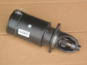 Starter For Ih International 140 240 Farmall 230 H Hv M Mv Super