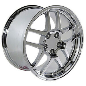 Chrome Wheel 18x10 5 For 1993 2002 Chevy Camaro Owh0100