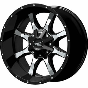 18x9 Black Moto Metal Mo970 5x5 5x5 5 18 Rims Nitto Trail Grappler 285 65 18