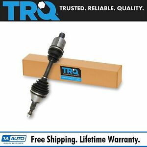 Trq New Front Cv Axle Drive Shaft Assembly Driver Or Passenger For Ram 1500 4wd