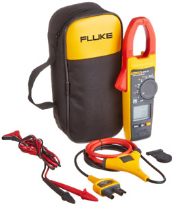 Fluke 376fc Wireless True Rms Ac dc Clamp Meter I2500 18 Iflex Cable Case Leads