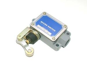 New Honeywell Micro Switch Bzf2 3an2 rh Roller Lever Limit Switch 15 Amp