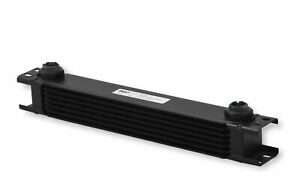 Earls 807erl Earls Ultrapro Oil Cooler Black 7 Rows Extra Wide Cooler