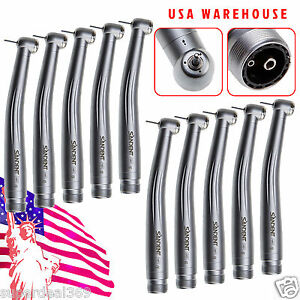 10 usa Sandent Dental Nsk Pana Max High Speed Handpiece Air Turbine Spray 2h Bb2