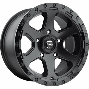 18x9 Black Fuel Ripper D589 6x135 1 Rims Nitto Trail Grappler 285 65 18 Tires