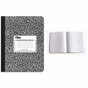 Tops 63786 9 3 4 X 7 1 2 Quad Ruled Composition Notebook