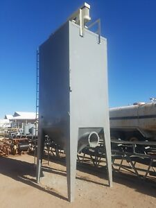Erie Strayer 6000 Cfm Baghouse Dust Collector Cement Concrete Plant stock 2390