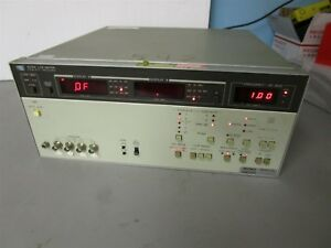 Hewlett Packard 4267a Lcz Meter Impedance Test And Measurement