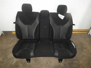 2015 Dart Rear Bench Seat Black Cloth 946556