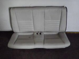 1999 Mustang Gt Rear Seat White Leather Conv 933464