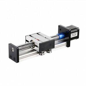 100mm Linear Stage Actuator With Nema17 Stepper Motor For Cnc Router Us Stock