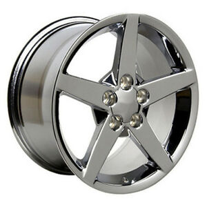 Chrome Wheel 17x8 5 For 1993 2002 Chevy Camaro Owh0459