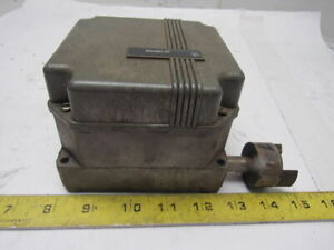 General Electric Cr115e 442122 Geared Rotary Limit Switch