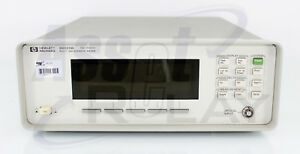 Agilent Hp 86120b Opt 021 Optical Wavelength Meter Pc Calibrated