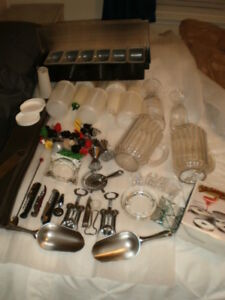 All The Bar Stuff You Will Need For A Party Bar Supplies