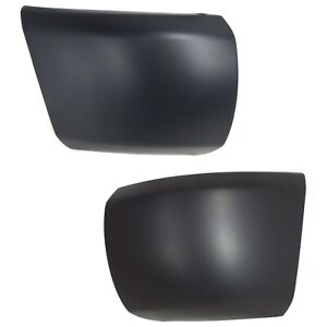 Bumper End Caps Set For 2007 2013 Chevy Silverado 1500 Front Primed