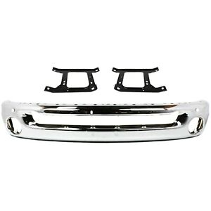 Bumper Kit For 2002 2008 Dodge Ram 1500 For Models With Round Fog Lights 3pc