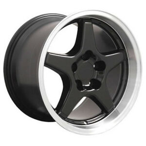 Black Wheel 17x11 W Machined Lip For 1993 2002 Chevy Camaro Owh0266