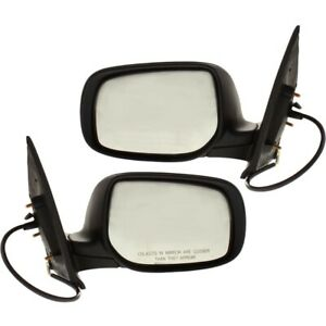 Power Mirror Set For 2007 2012 Toyota Yaris Sedan Left And Right Paintable