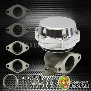 Silver 35mm 38mm Stainless Steel Adjustable Turbo Manifold External Wastegate