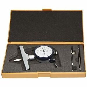 Mitutoyo 7218s Mechanical Depth Gauge Dial 0 8 0 001