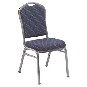 9300 Series Fabric Stack Chairs 4 Pack N a