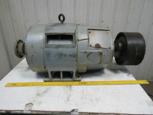 Westinghouse 60hp Electric Motor Double Shaft 220 440v 3ph 364tx Frame 1165rpm