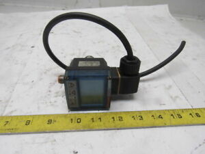 Burkert 8400 Screw in Temperature Sensor switch W display For On off Control