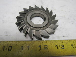 Utd Co 3 X 3 8 X 1 Arbor Slitting Saw Blade Hss