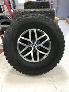 2018 Ford Raptor Tires And Wheels