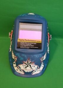 Miller Digital Performance Auto Darkening Welding Helmet America s Eagle Ii